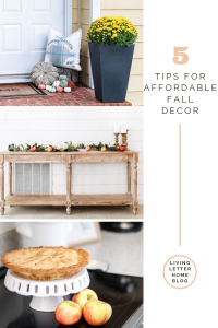 Affordable fall home decor | Decorating for a season doesn't mean you have to run out and buy out the stores! Let me show you how you can have affordable, minimal, and neutral decor #neutralfalldecor #falldecor #fallaesthetic