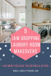 9 Stunning Small Laundry Room Makeovers #laundryroom #laundryroomideas #smalllaundryroom