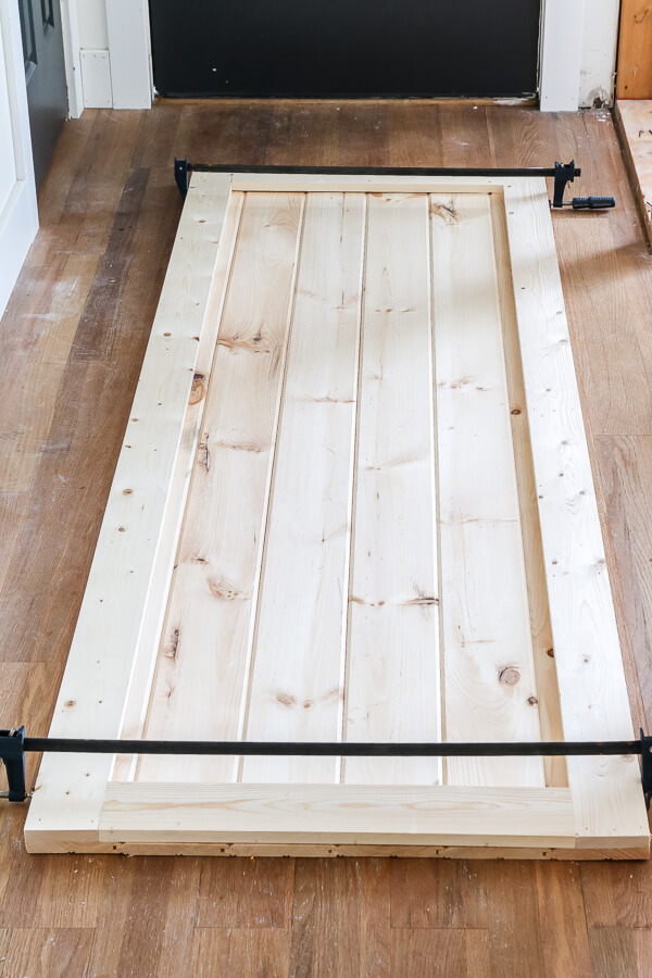diy barn door cheap