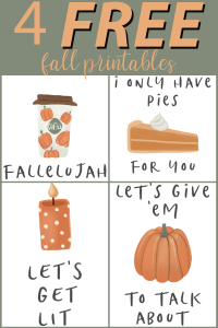 4 Funny & FREE Fall Printables!
