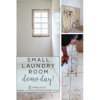 Laundry Room Demo