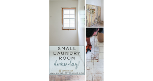 Jeffrey Court Laundry Room Demo