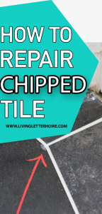 EASIEST way to repair chipped tile
