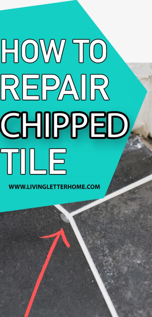 EASIEST way to repair chipped tile