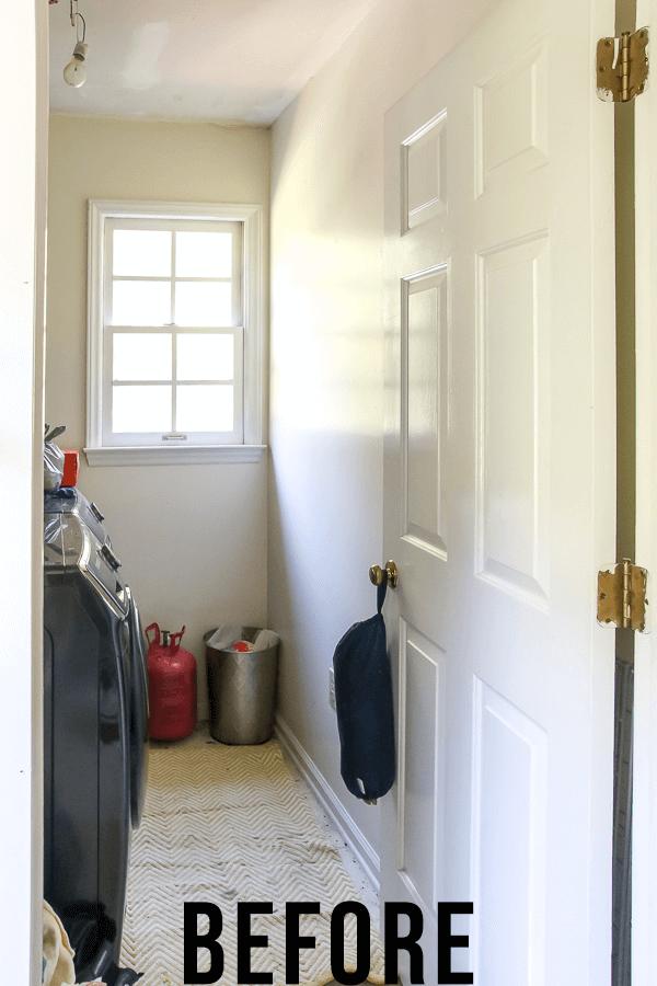 Dutch door before photo