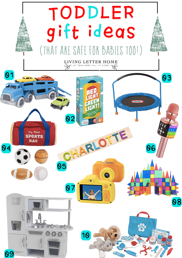 Toddler Gift Ideas that are Safe For Babies