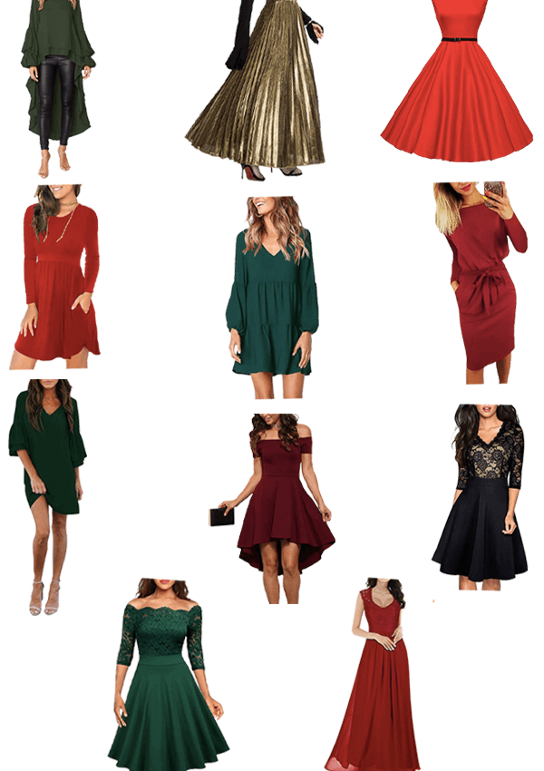 11 Budget Friendly Holiday Party Dresses From Amazon