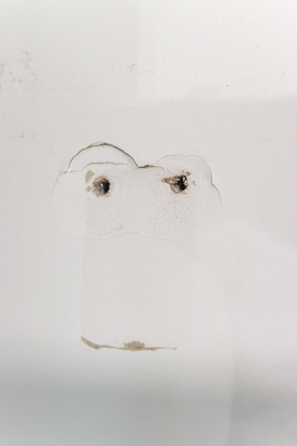 small hole in drywall