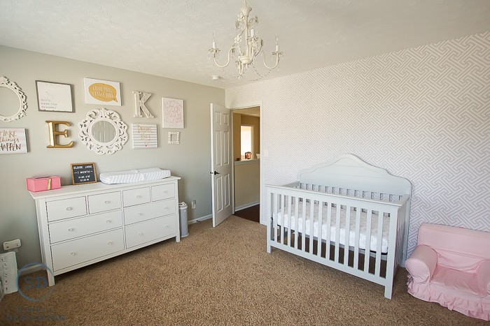Our Girls Shared Bedroom and a Baby Nursery Reveal