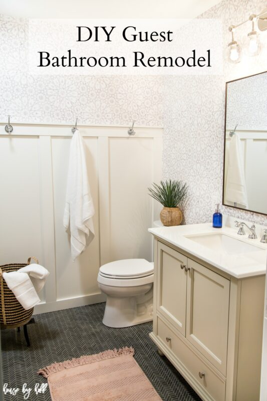 DIY Guest Bathroom Remodel