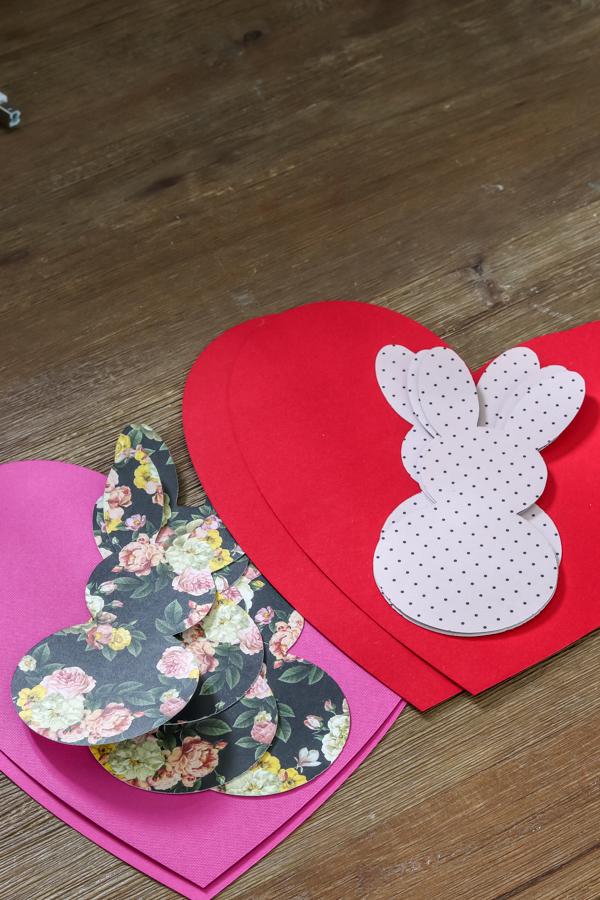 DIY love bunny neighbor gift ideas