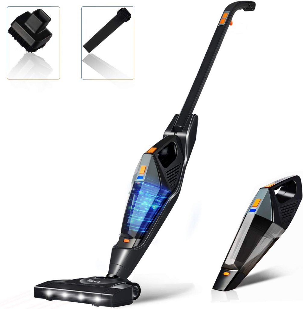 HIkeren cordless stick vacuum from Amazon