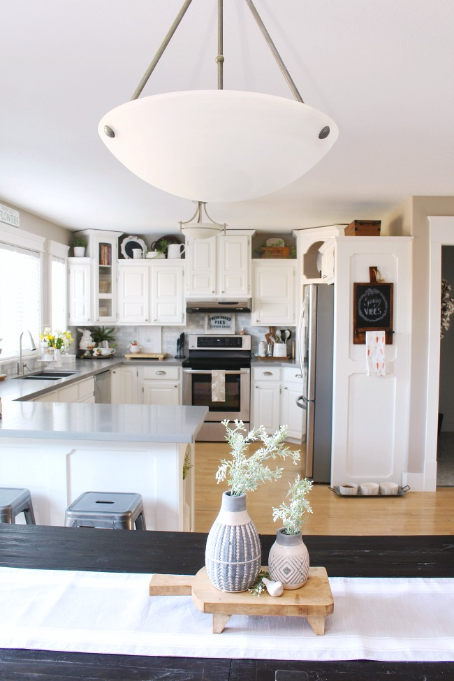 Kitchen Spring Decor Ideas
