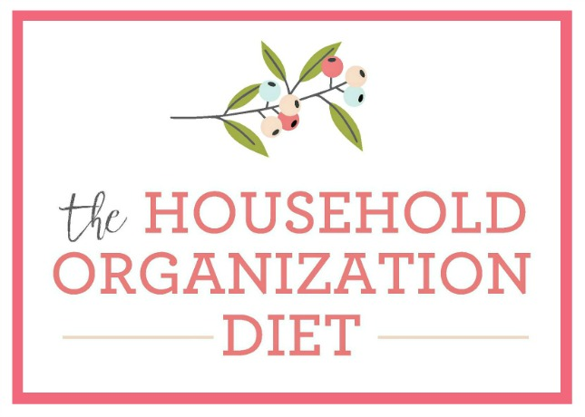 The Household Organization Diet Home Organization Plan