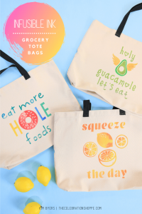 3 DIY grocery shopping bags