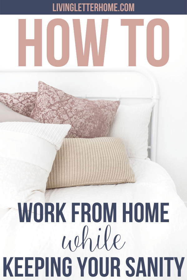How to work from home and stay productive. Be productive working at home even if you've never done it before! Here's 8 SUPER practical tips on how to work at home