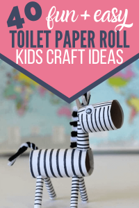 Cutest toilet paper roll craft ideas for kids