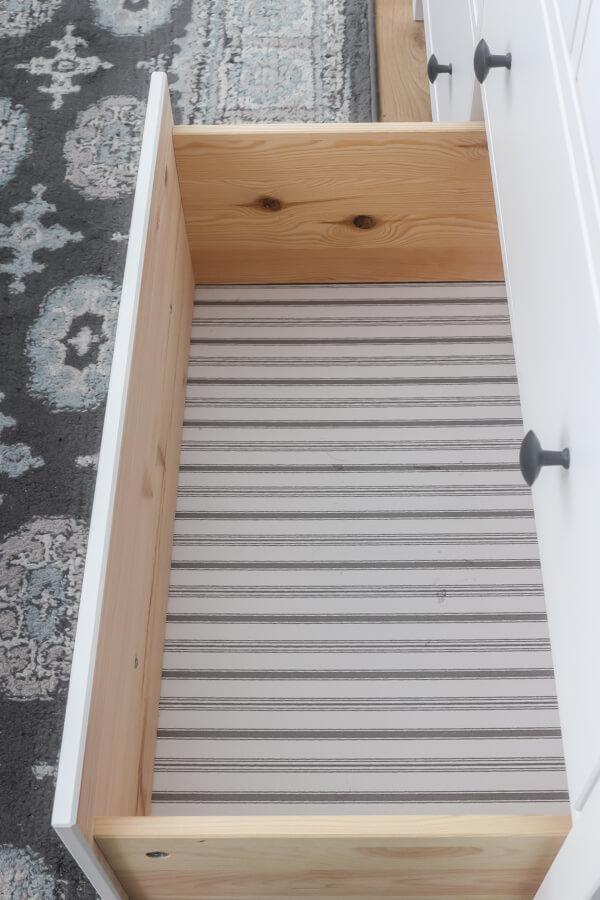 empty Ikea Hemnes dresser drawer