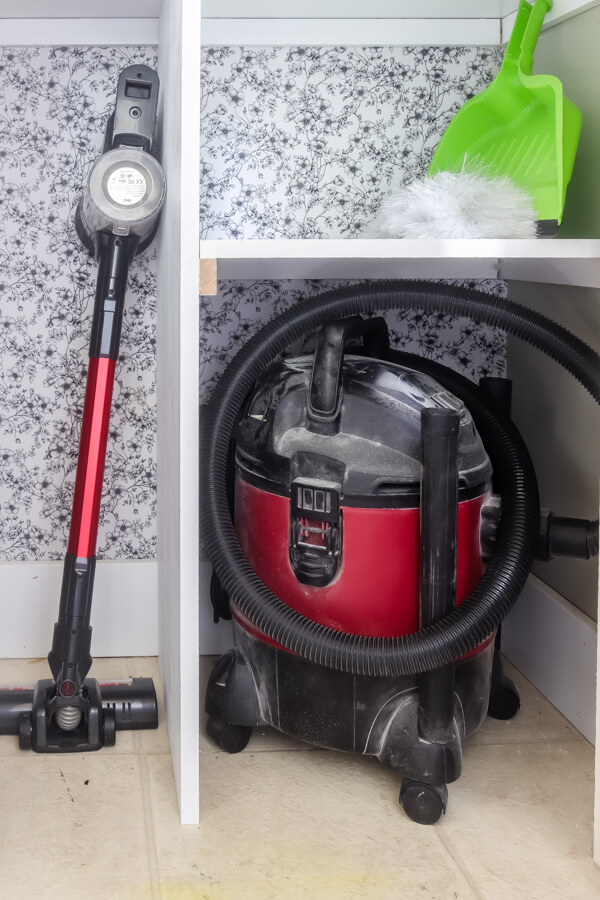 cordless stick vac and shopvac