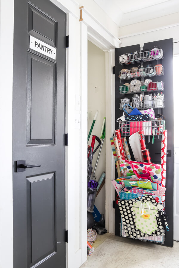 mess closet before