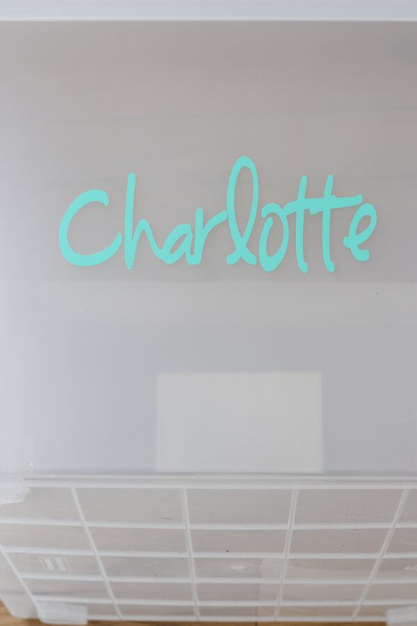 teal Charlotte