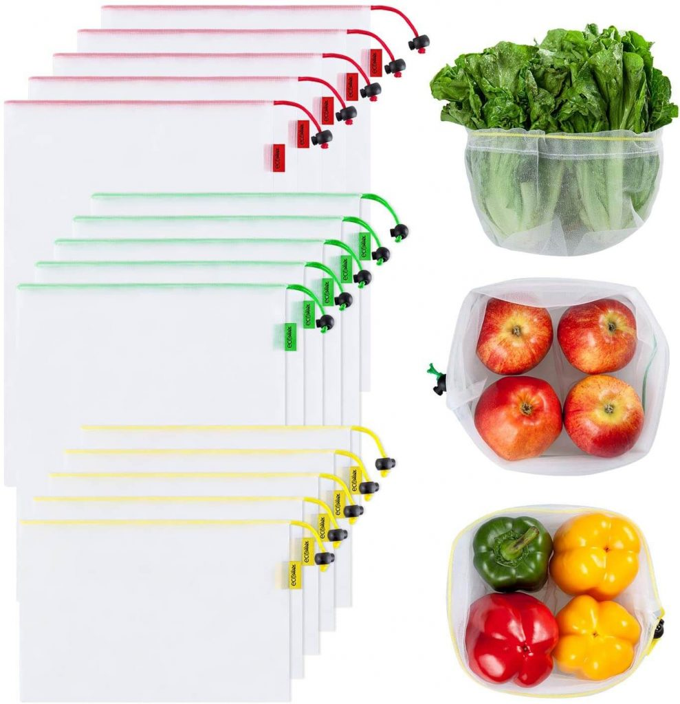 mesh produce bags from Amazon