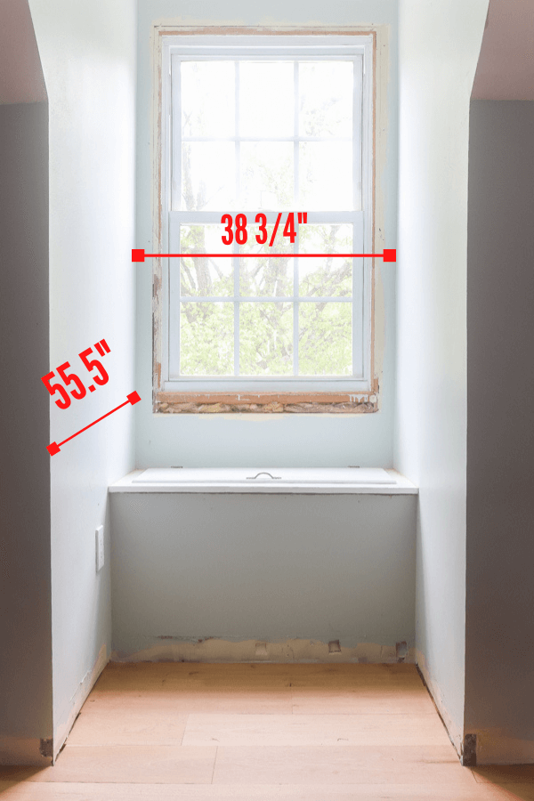 dormer built in desk measurements
