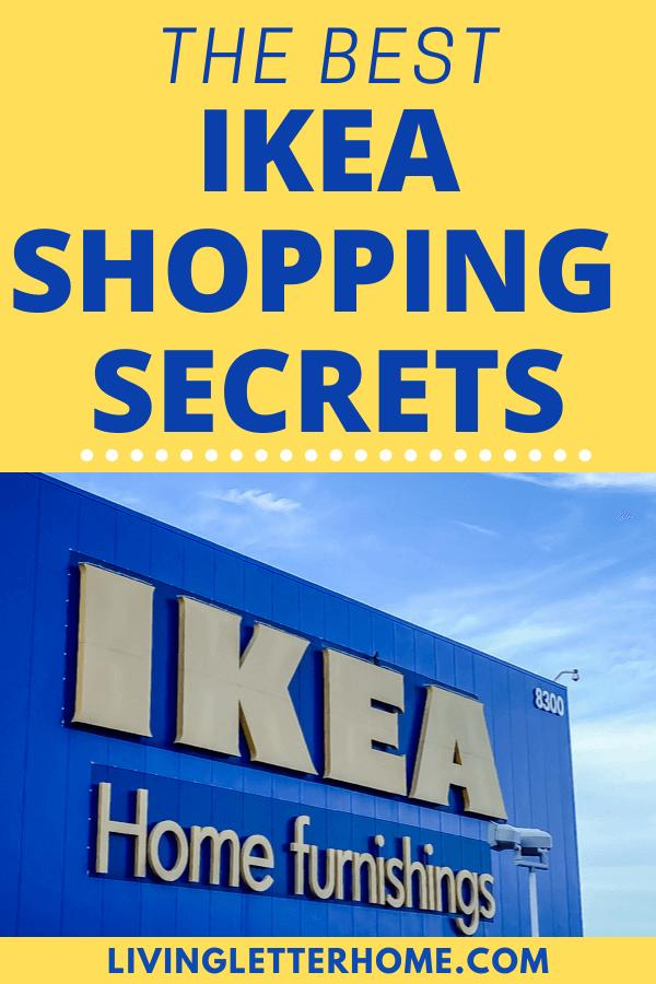 Ikea Shopping Secrets