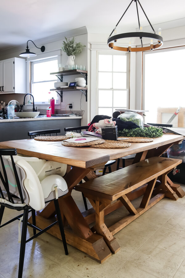 restoration hardware knockoff table