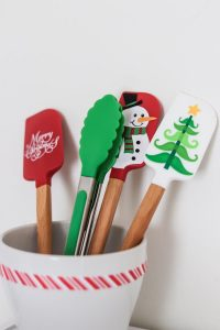 christmas kitchen utensils