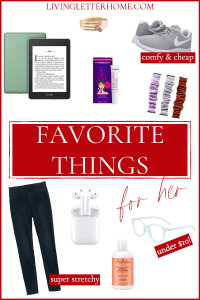 Favorite things for her