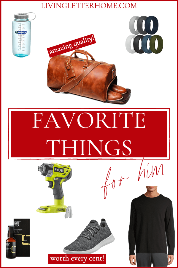 Favorite things for him