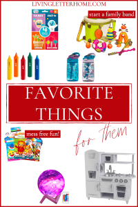 Affordable gifts for kids