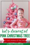 A great tradition! Letting your kids decorate their own Christmas tree!
