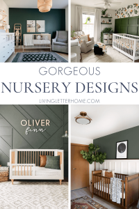 Gorgeous nursery design ideas and inspiration   LivingLetterHome.com