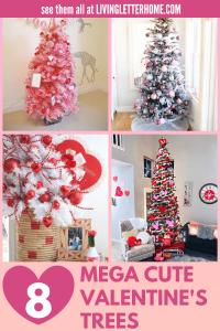 8 Mega Cute Valentine's Day Trees