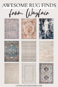 Awesome rug finds from Wayfair graphic