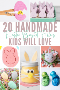 20 Handmade Easter Basket Fillers Kids Will Love graphic