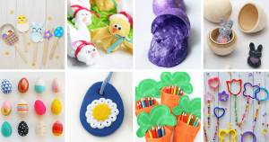 8 different Easter crafts for kids