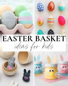Easter Basket Ideas for Kids Graphic