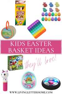 Easter basket ideas for kids they'll love pin