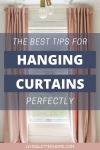 The best tips for hanging curtains perfectly graphic