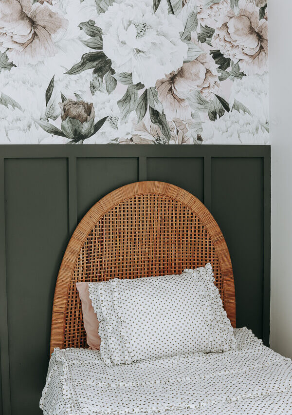 Shared Girls' Room Accent Wall