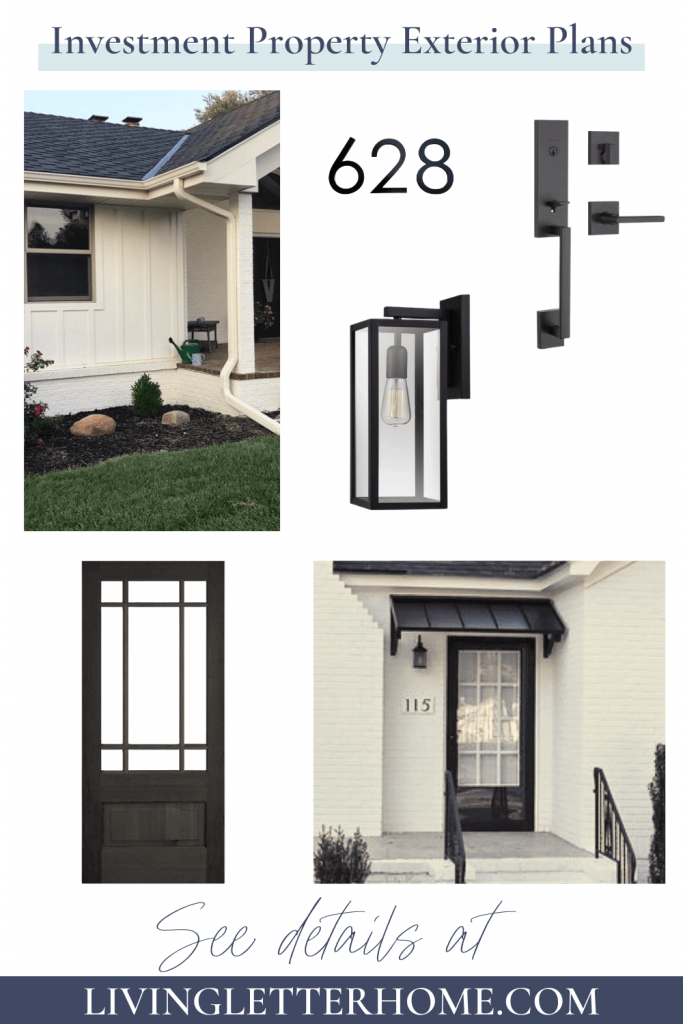 black and white house exterior finishes