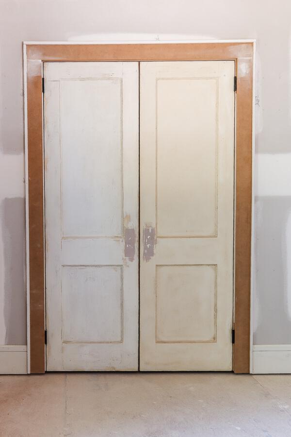 original french closet door in investment property