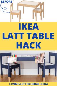 Ikea Latt table hack graphic