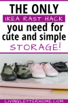 The only Ikea Rast Hack you need for simple and cute storage graphic