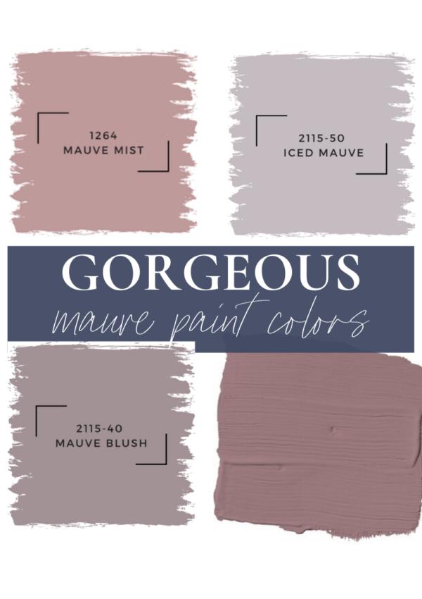 8 Amazing Mauve Paint Colors