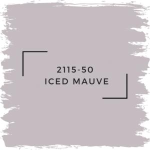 Benjamin Moore Iced Mauve