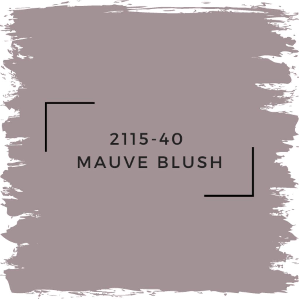 Benjamin Moore Mauve Blush